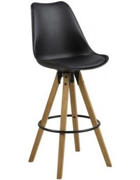 Barová židle Dema černá