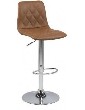 Barová židle Emilo hnědá