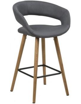 Barová židle Gracja II šedá