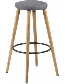 Barová židle Hector šedá