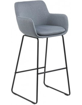 Barová židle Lisa světle modrá