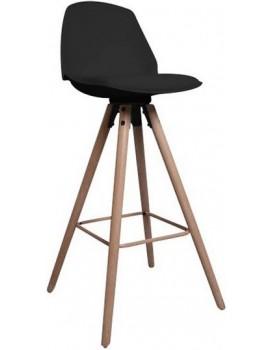 Barová židle Oslo černá 2