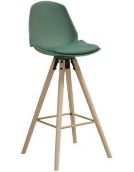 Barová židle Oslo zelená