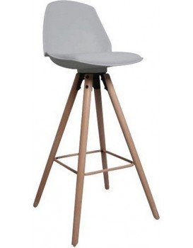 Barová židle Oslo šedá