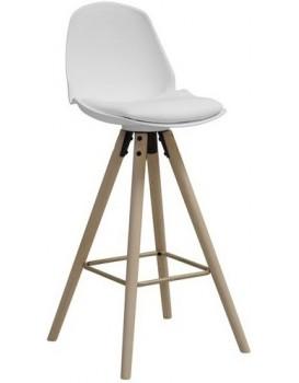 Barová židle Oslo bílá