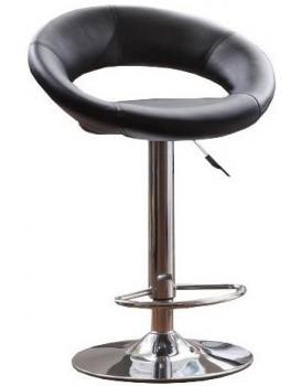 Barová židle Plump černá