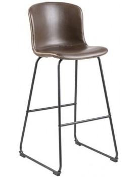 Barová židle Story hnědá