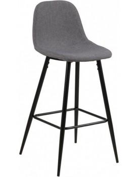 Barová židle Wilma I světle šedá