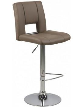 Otočná barová židle Sylvie hnědá