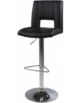 Otočná barová židle Elen černá