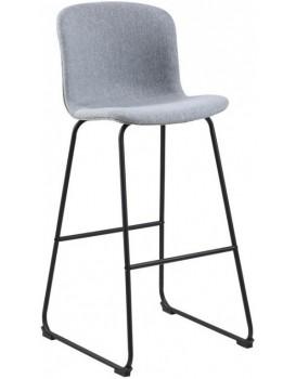 Barová židle Story světle šedá