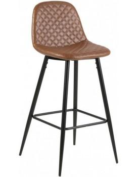 Barová židle Wilma hnědá 2