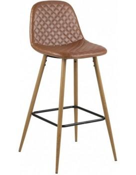 Barová židle Wilma hnědá 3