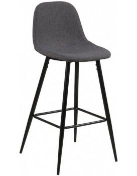 Barová židle Wilma II šedá