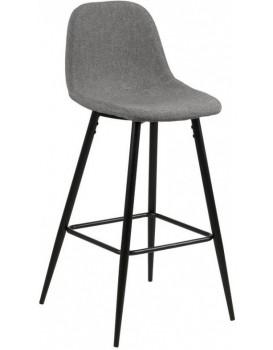 Barová židle Wilma II světle šedá
