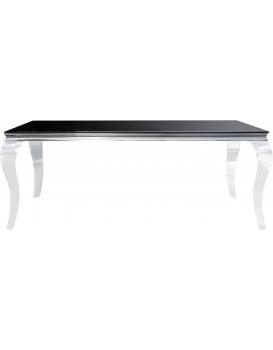 Jídelní stůl Barock 200 cm černý