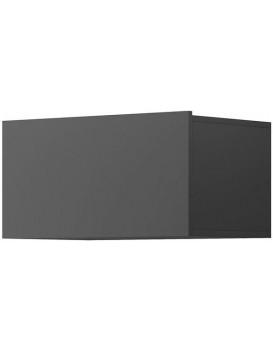 Nástěnná police Moyo 60 cm šedá