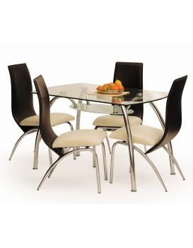 Jídelní stůl Corwin bezbarvý