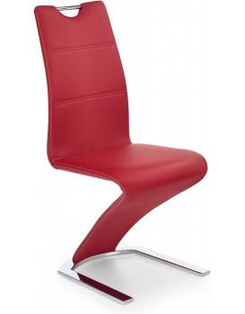 Jídelní židle Lilianne červená