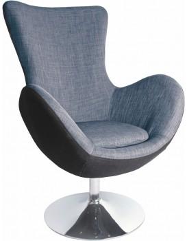 Relaxační křeslo Farfalla šedé