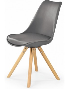 Jídelní židle Scan tmavě šedá