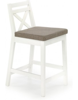 Barová židle Eleven bílá