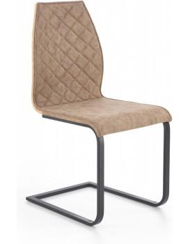 Jídelní židle Lara hnědá/černá