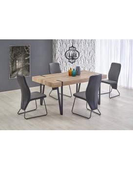 Jídelní stůl John dub San remo/černá
