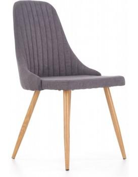 Jídelní židle Marie tmavě šedá