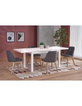 Rozkládací jídelní stůl Tiaro bílý