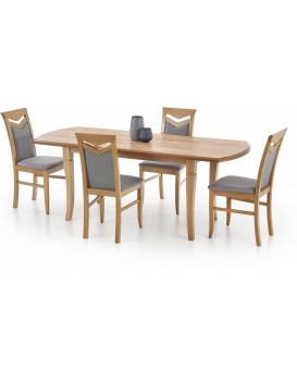 Rozkládací jídelní stůl Fryderyk 160/240 cm dub kraft