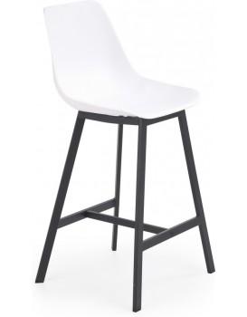 Barová židle Ran bílá
