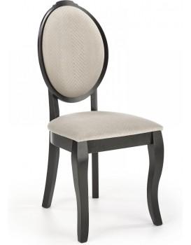 Jídelní židle Kol černá/béžová