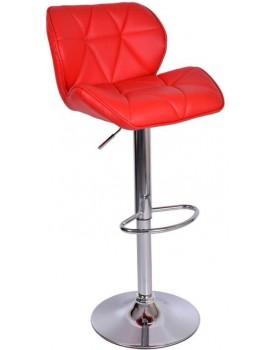 Barová židle Hoker Rossi - červená