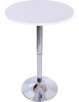 Barový stůl Rumba - bílý
