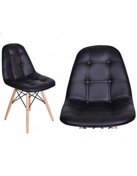 Jídelní židle Lyon - černá
