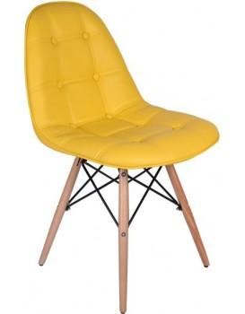 Jídelní židle  Lyon - žlutá