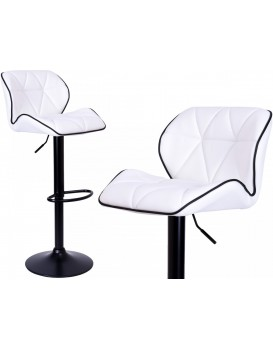 Barová židle Grappo bílá