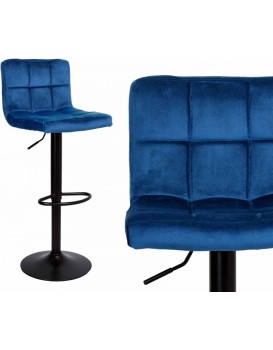 Barová židle Arako modrá