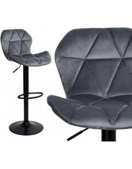 Barová židle Gordon šedá