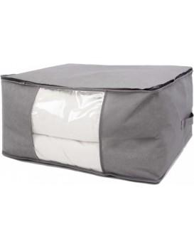 Úložný box na přikrývku Vitto šedý 60 x 45 x 30 cm