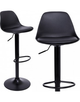Barová židle Ricardo černá