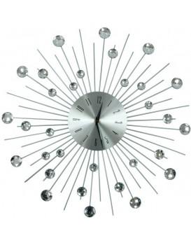 Designové nástěnné hodiny Cristal Moon - 50 cm
