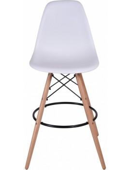 Barová židle Capri - bílá