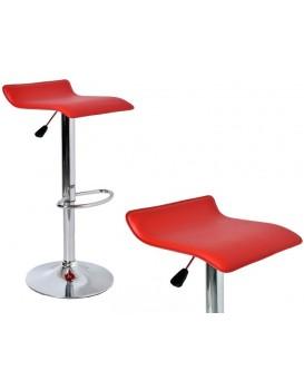 Barová židle Hoker Porti - červená