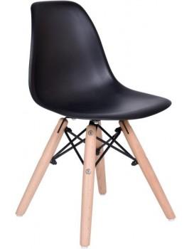 Dětská židle  Paris - černá