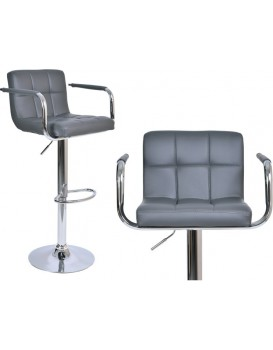 Barová židle Hoker Monte - šedivá