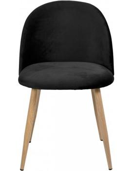 Židle JAZZ VELVET černá