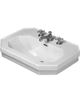Keramické umyvadlo klasické DURAVIT 1930 SERIES 80x55 cm bílé
