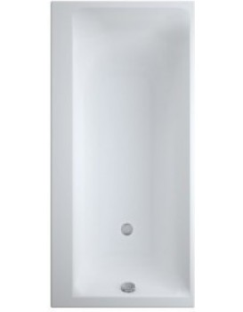 Obdélníková vana CERSANIT SMART 170x80 cm - levá, bílá
